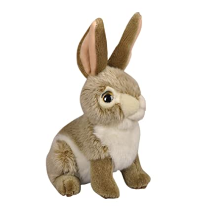 Amazon Com Bestlee Realistic Brown Bunny Rabbit Plush Stuffed