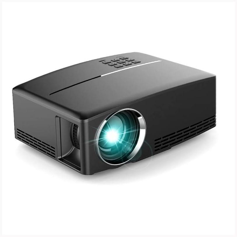 Proyectores de Cine en casa HD 1080p 3800 lúmenes LCD de Video proyección de Gran Pantalla de Cine en casa Incorporado estereoscópica con PS4, HDMI, VGA, TF, AV y USB: Amazon.es: Electrónica
