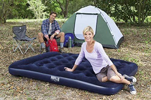 """Bestway Pavillo Venture Air Bed Twin Blue 74/"""" x 39/"""" x 11/"""" NEW BOXED NEVER USED"""