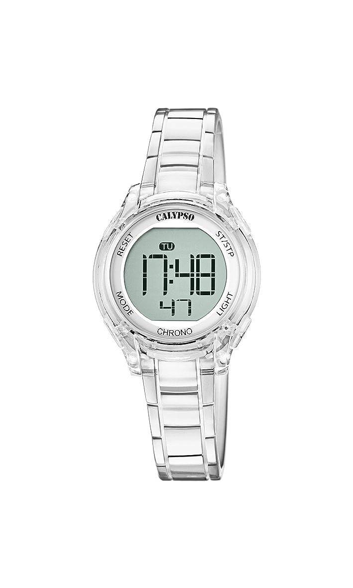 Calypso Reloj Digital para Unisex de Cuarzo con Correa en Plástico K5737/1