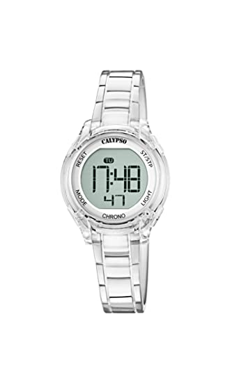 Calypso Reloj Digital para Unisex de Cuarzo con Correa en Plástico K5737/1: Amazon.es: Relojes