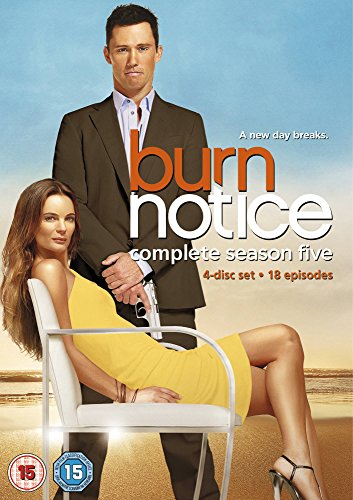 Burn Notice: Season 5 [Region 2] -  NTSC, Jeffrey Donovan, Jeffrey Donovan