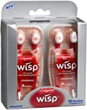 Colgate Wisp Mini-Brushes, Cinnamint, 16-Count Boxes (Pack of 2)