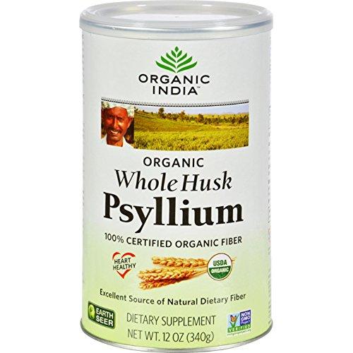 - Organic India Fiber Harmony Psyllium Whole Husk - 12 oz