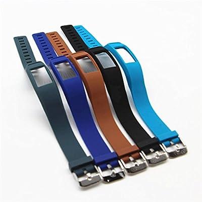 Tkasing Compatible with Garmin Vivofit 2 Bands,Soft Silicone Replacement Bands for Vivofit 2 Wristband Bracelet(Not Fit for Garmin vivofit)
