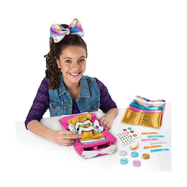 Cool Maker - JoJo Siwa Bow Maker with Rainbow and Unicorn Patterns, for Ages 6 and Up 4