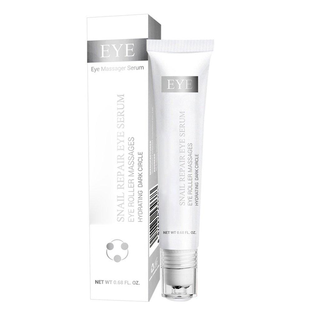 RedDhong Snail Repair Triple Rollerball Eye Serum Anti-Wrinkle Dark Circle Anti-Puffiness Skin Care Whitening