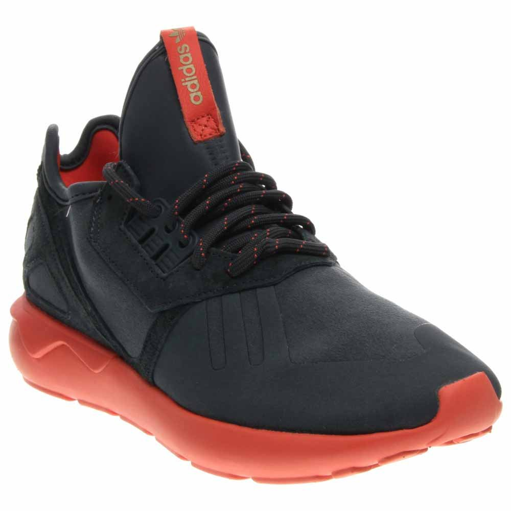 super popular b1c73 adaa0 adidas Men s Tubular Runner Blue Pink S81680 Midnight   Midnight-Sea Coral  10 D(M) US  Buy Online at Low Prices in India - Amazon.in