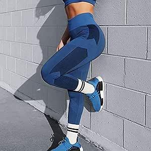 Beiziml Women Active Legging High Waist Tight Leggings Folding Fitness Stretch Folding Workout Slim Gym Leggings Solid Yoga Pants