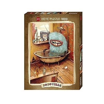 Heye Bathtub Puzzles (1000-Piece): Toys & Games