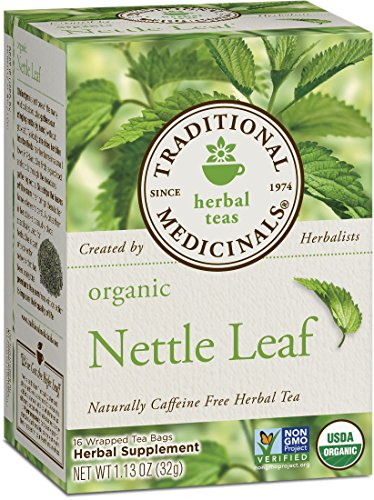 Traditional Medicinals Organic Nettle Herbal Leaf Tea, 16 Tea Bags (Pack of 6) ()