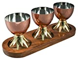 Thirstystone N1080 Pineapple Condiment Set, One Size, Wood/Copper
