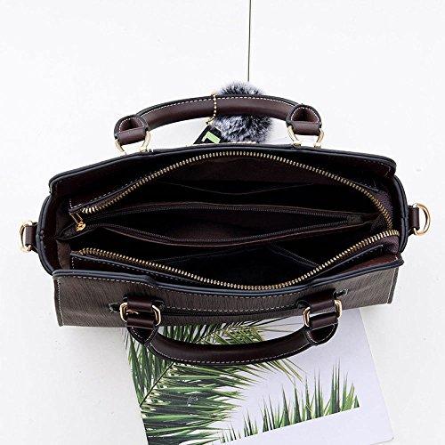 Diagonal Sac Sac En ZLL Généreux Women's à Kaki bag Femme Pour à Main Mode Classique Bandoulière Bois Sac vOOwq