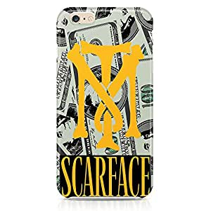 Loud Universe Tony Montana Management iphone 6 plus Case Scarface iphone 6 plus Cover with 3d Wrap around Edges