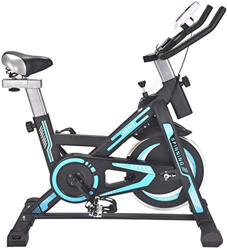 LSYOA Bicicleta Estática Stationary Indoor Bicicleta, Ajustable ...