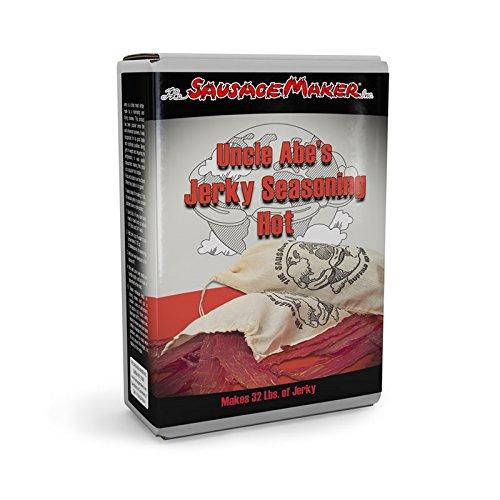 TSM Uncle Abe's Hot Jerky Seasoning Kit, 1 lb.