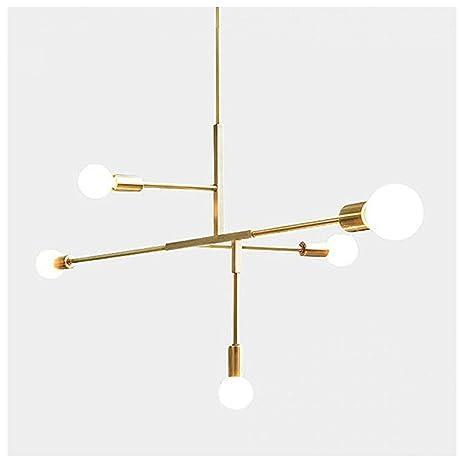 Moderno Colgante de metal iluminación suspensión lámpara de ...