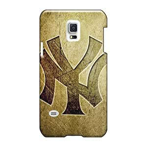 Shock Absorption Hard Phone Cases For Samsung Galaxy S5 Mini With Support Your Personal Customized High Resolution New York Yankees Logo Hd Image JasonPelletier