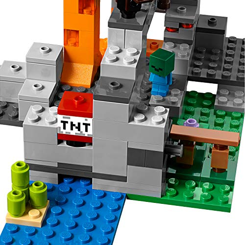 LEGO Minecraft Zombie Cave Steve /& Baby Zombie Minifigure 21141