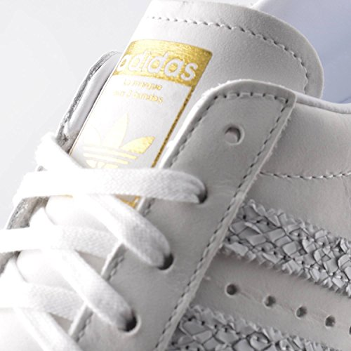 Trainers Leather 80s Off Womens Reptile cream Adidas Superstar White wqCtEpS