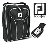 Genuine FOOTJOY Golf Shoes Bag Zipped Sports Bag Shoe Case - Black Color