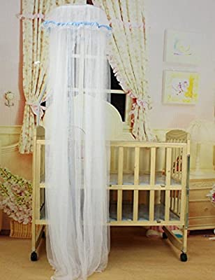 Mosquito Guard Netting for Baby Crib Baby Toddler Bed Crib Dome Canopy Netting