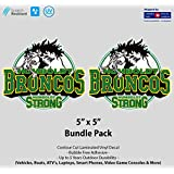 "5"" x 5"" Humboldt Strong Vehicle Decal Package"
