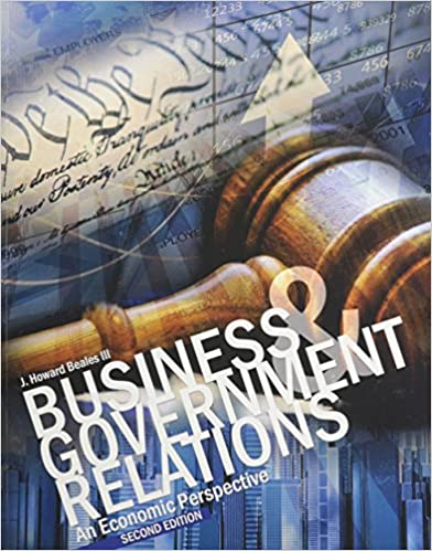 Business and Government Relations: An Economic Perspective