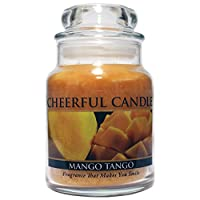 A Cheerful Giver Mango Tango Jar Candle, 6-Ounce