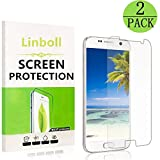 galaxy note 4 edge case ultra - Samsung Galaxy S7 Tempered Glass Screen Protector,Mioua [2Pack] 9H Hardness,Bubble Free [Ultra-Clear] [Scratch Proof] [Case Friendly] Screen Protector for Samsung Galaxy S7