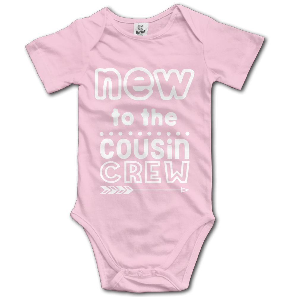 Midbeauty New to Counsin Crew Unisex Baby Sleeveless Bodysuit
