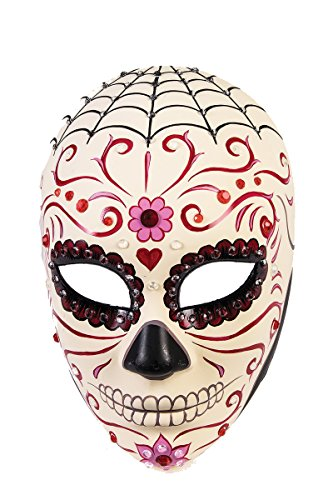 Sweetheart Headpiece (F76089 Sweetheart Day Of The Dead Mask)