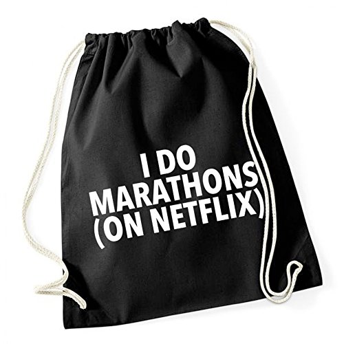 I Do Marathons Gymsack Black Certified Freak
