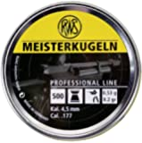 Umarex Meisterkugeln Pellets, .177, Competition 8.2g /500