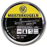 RWS Meisterkugeln .177 Caliber Pellets, Competition