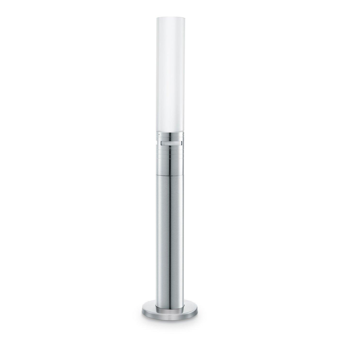 Steinel LED Gartenleuchte GL 60 LED, Wegeleuchte mit 360° Bewegungsmelder, Max. 12 m Reichweite, 8,6 W, Höhenverstellbar [Energieklasse A++] Höhenverstellbar 007881