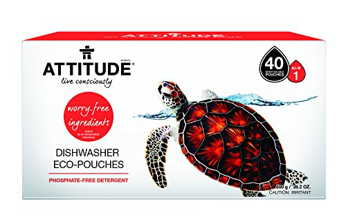 Eco-Friendly Dishwasher Detergent Tablets. Natural, Phosphate-free, Hypoallergenic and 100% Safe (26 tablets)