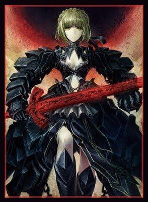 混沌の女神様 同人キャラクタースリーブ Fate/stay night ☆『セイバーオルタ/illust:お湯うどん』★ 【GO