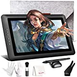 Drawing Monitor, XP-PEN Artist 15.6 inch Full HD IPS Graphics Display Tablet with 8192 Level Battery Free Pen Stylus for Digital Art Sketch, Paint, Design for Windows, Mac OS Computer with Carry Bag