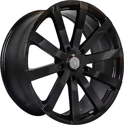 Amazon Com 20 Inch Velocity Vw12 Gloss Black Wheels Rims