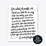Best Office Art - F. Scott Fitzgerald For What It's Worth Print Review