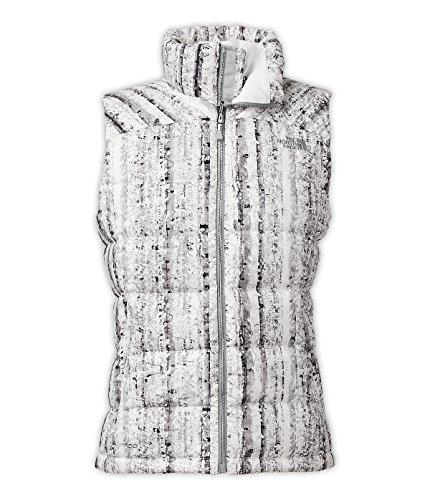 White Print TNF Jacket FACE Nuptse Birch Nuptse Women's THE women's NORTH xZCqUwP