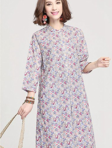 MatchLife - Vestido - vestido - para mujer Beige