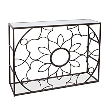 Art Deco Home - Mueble Mesa Entrada Arabe 107x82 cm: Amazon ...