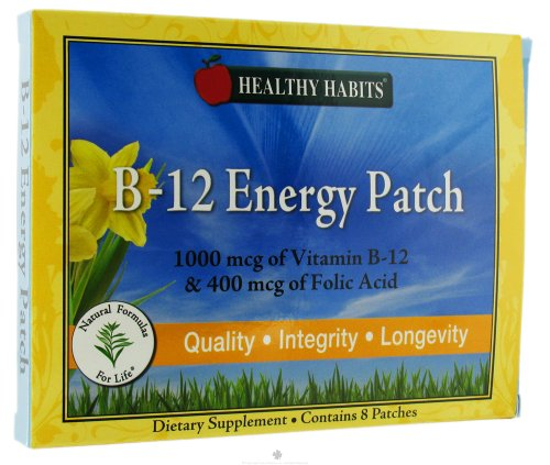 La vitamine B12 Patch (8 patchs)