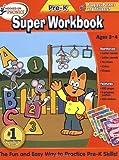 : Hooked on Pre-K Super Workbook (Hooked on Phonics)