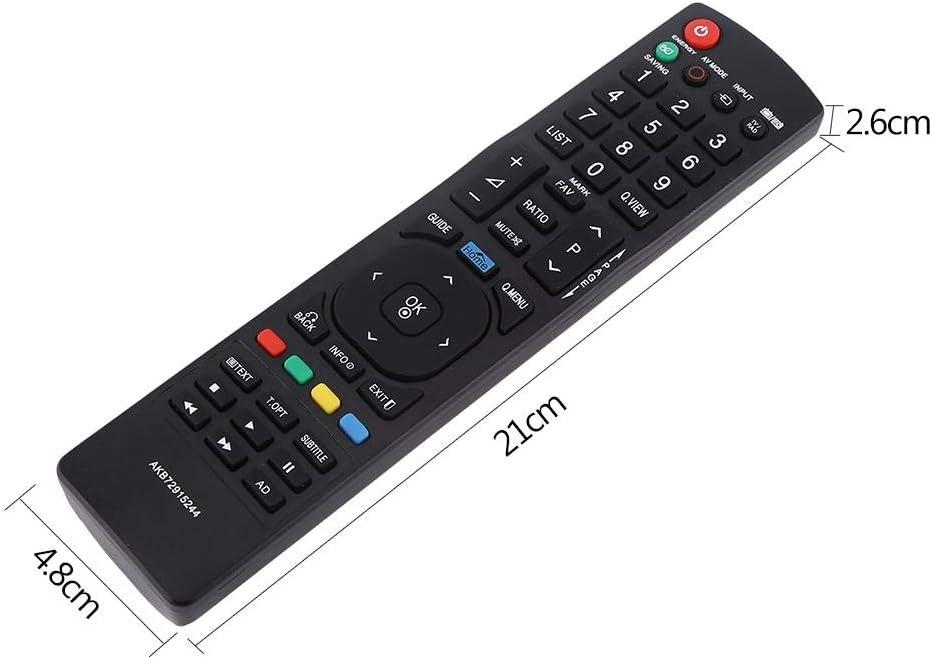 Zerone AKB72915244 T/él/écommande de Remplacement pour LG AKB73275605 AKB72915244 AKB72915207 AKB72915217 AKB72914202 AKB72915246 AKB72914202 pour LG Smart TV 32LV2530 22LK330 26LK330 32LK330