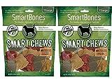 SmartBones Smart Chews Safari Chews for Dogs, Rawhide-Free, Large, 14 Pieces