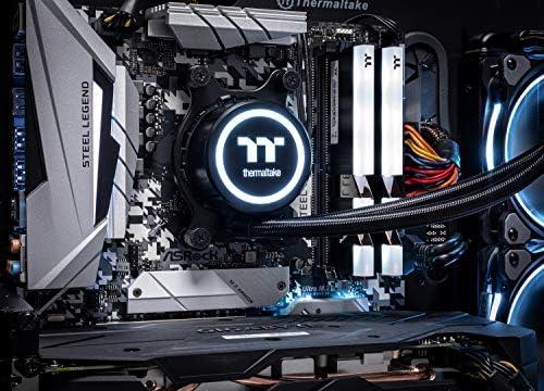 Thermaltake LCGS Shadow III AIO Liquid Cooled CPU Gaming PC (AMD RYZEN 5 3600 6-core, ToughRam DDR4 3200Mhz 16GB RGB Memory, RTX 2060 Super 8GB, 1TB SATA III, WiFi,Win 10 Home) P3BK-B450-STL-LCS, 51KRoPisHYL