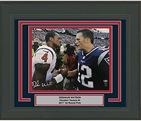 Framed Autographed Signed Deshaun Watson Houston Texans 16x20 Football  Photo Beckett BAS COA 191b3ecd0